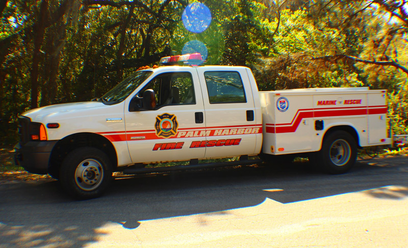 Palm Harbor Fire and Marine Rescue Vehicle