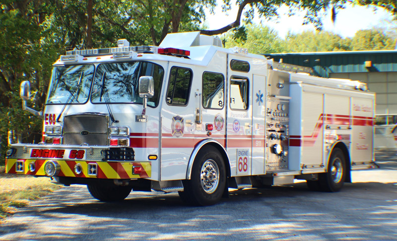 Palm Harbor Fire Rescue Engine 68