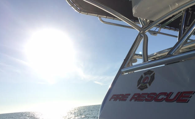 Palm Harbor Fire Rescue Fireboat 68